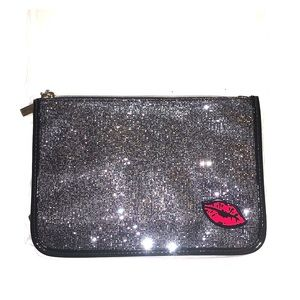💄NWOT Sparkly Cosmetic Bag/Clutch